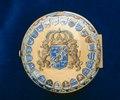 Ytterboett av guld till Karl XIIs ur - Livrustkammaren - 39310.tif