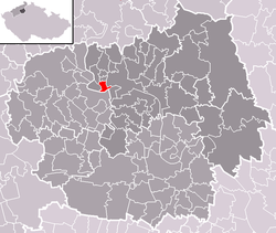 Location of Žalhostice