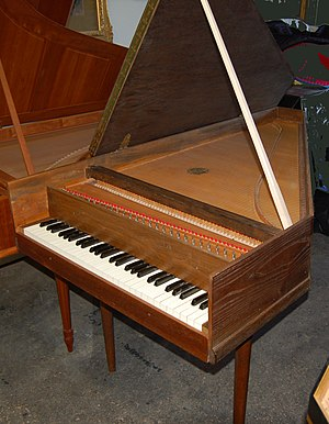 "Wolfgang Zuckermann - A Zuckermann ""Z-box"" harpsichord"