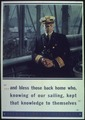 """...And bless those back home who, knowing of our sailing, kept that knowledge to themselves"" - NARA - 513849.tif"