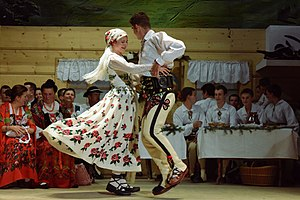 Folk dance - Podhale Gorals dancing