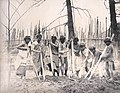 """Igorrotes Preparing the Soil for Planting."" Igorrotes, Philippine Reservation, Department of Anthropology, 1904 World's Fair.jpg"