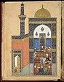 """Laila and Majnun at School"", Folio from a Khamsa (Quintet) of Nizami MET DT3705.jpg"