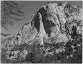 """""""North Dome, Kings River Canyon, Kings River Canyon (Proposed as a national park),"""" California, 1936., ca. 1936 - NARA - 519919.tif"""