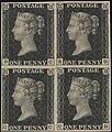 """""""Penny Black"""" postage stamps MET DP328201.jpg"""