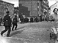 """""""Punainen päivä"""". Poliisi hajottaa Suomen Ammattijärjestön toimeenpanemaa mielenosoitusta 1.8.1929.jpg"""