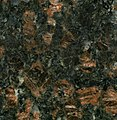 """Tan Brown Granite"" (porphyritic granite, Archean; Andhra Pradesh State, southern India) (14618910269).jpg"