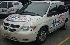 CJMJ-FM - Image: '05 '07 Dodge Caravan Majic 100 (Byward Auto Classic)