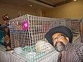 'SELFIE'- Owner Rudolph.A.Furtado with cat 'Matahari'.JPG