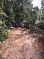(1)Sefwi Boinzan waterfall in the Western North Region in Ghana, West Africa.jpg