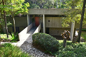 Harry Seidler - Seidler's home in Killara, New South Wales.