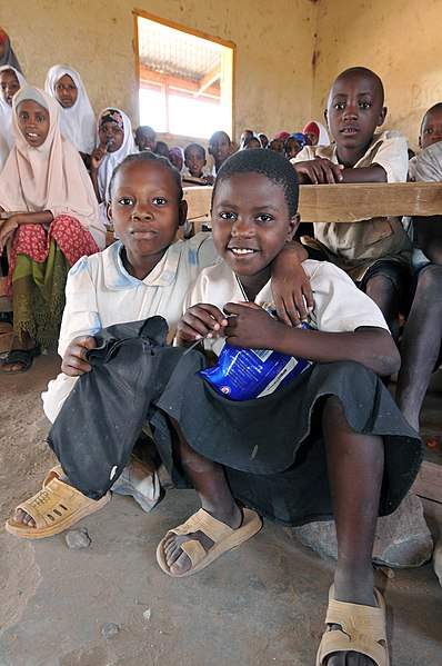 File:(2011 Education for All Global Monitoring Report) -School children in Kakuma refugee camp, Kenya.jpg