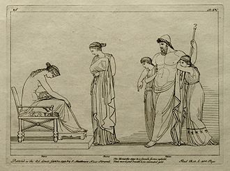 Charis (mythology) - Thetis, Charis and Hephaestus