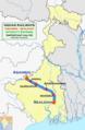 (Sealdah - Asansol) Intercity Express route map.png
