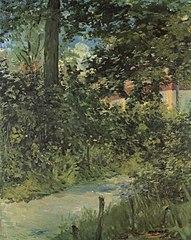 Une allée du jardin de Rueil