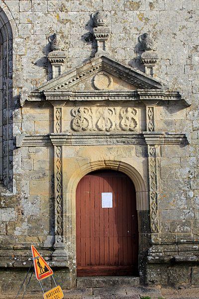 Église Notre-Dame-de-la-Fosse porte sud ouest