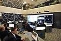"""İlham Əliyev """"Azərspace-1"""" telekommunikasiya peykinin orbitə buraxılması prosesini izləyərkən 13.jpg"""