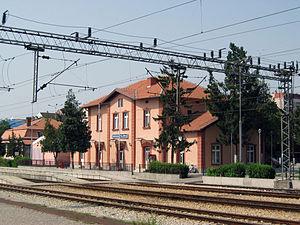 Smederevska Palanka - Smederevska Palanka railway station, built in 1884.