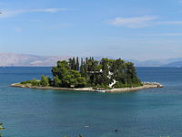 Ποντικονήσι - Islet of Pontikonisi - Corfu - Ionian Islands - Greece - 18 Sept. 2008.jpg