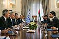 Συνάντηση ΥΠΕΞ Δ. Αβραμόπουλου με ΥΠΕΞ Ηνωμένων Αραβικών Εμιράτων Σεΐχη Abdullah bin Zayed Al Nahyan (9016760434).jpg