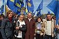 Бондарчук Сергій Михайлович - на мітингу на Михайлівській площі.JPG