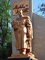 Братська могила радянських воїнів (скульптура) Арциз.JPG