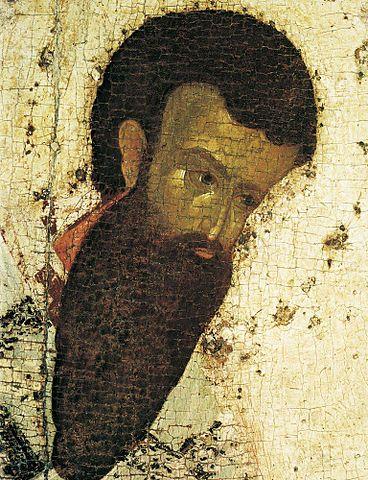 Святитель Василий Великий, сподвижник и друг Григория Богослова (фрагмент иконы работы Феофана Грека)