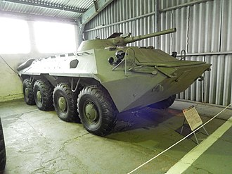 BTR-70 - The original GAZ-50 prototype.