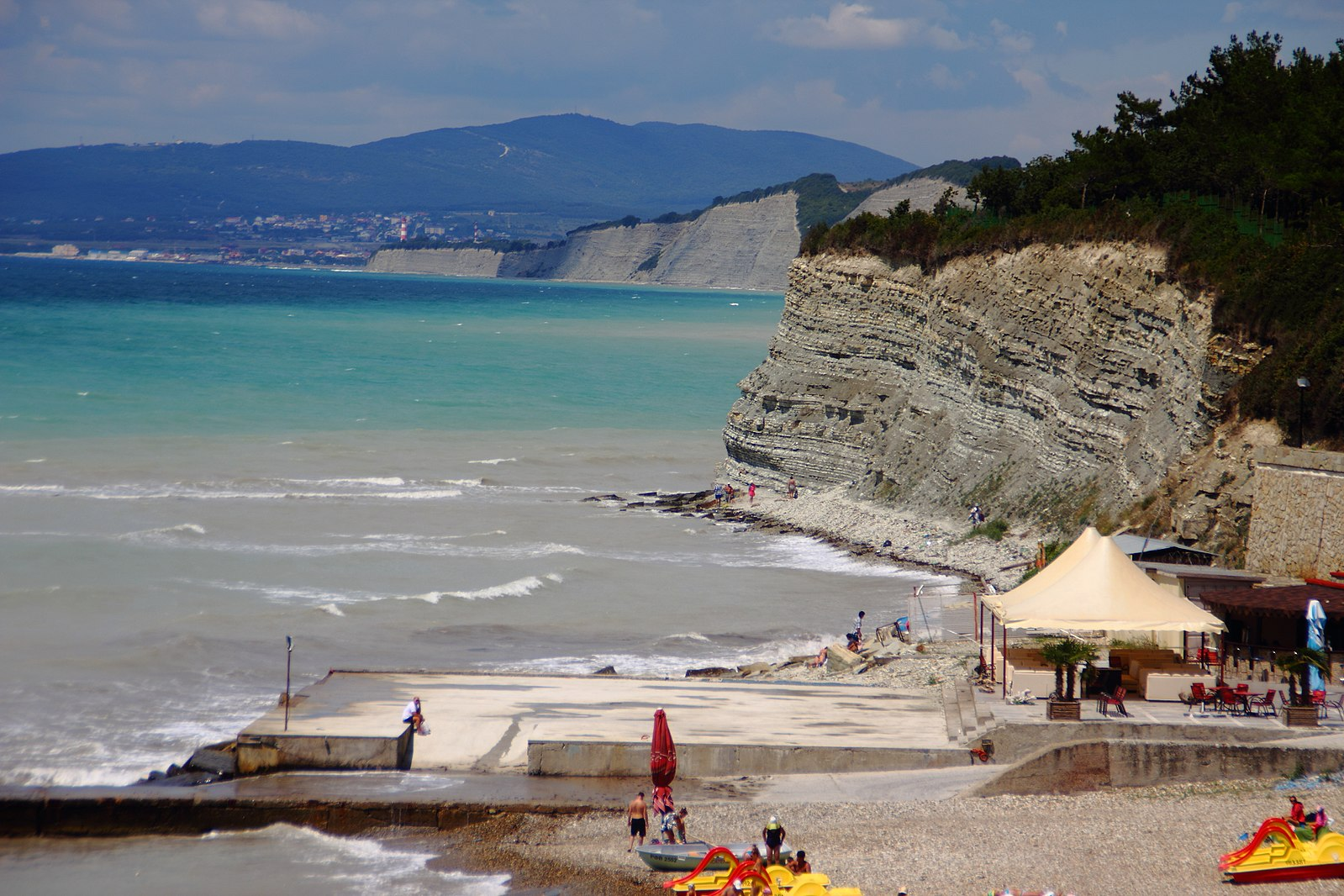 Все пляжи дивноморска фото