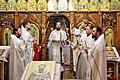 Епископ Нефтекамский и Октябрьский Амвросий провёл службу в Михаило-Архангельском храме в селе Шаран.jpg
