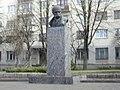 Житомир. Пам'ятник Т. Г. Шевченку — українському поету..JPG