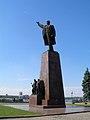 Запорізький Ленін на площі Леніна перед ДніпрГЕСом.jpg