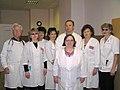 Коллектив гастроэнтерологического, эндокринологического отделений 2008 год.jpg