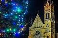 Костел Воздвиження Святого Хреста (Фастів) на Різдво 03.jpg