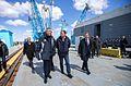 Куратор строительства нового российского космодрома Восточный вице-премьер Дмитрий Рогозин.jpg