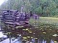 """Мост через протоку на ВендОзере и """"сторож"""" - panoramio.jpg"""