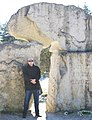 Мыс Колка (Латвия) Мальчик у памятника - panoramio.jpg