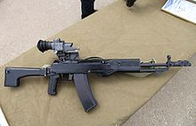 Prototype of AN-94 assault rifle, also known as LI-291