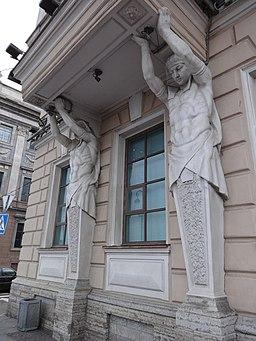 Особняк Громова И. Ф. (Ратькова-Рожнова В. А.) Дворцовая наб., 8 7