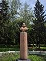 Пам'ятник-погруддя Л.І.Глібова, с. Веселий Поділ 01.jpg