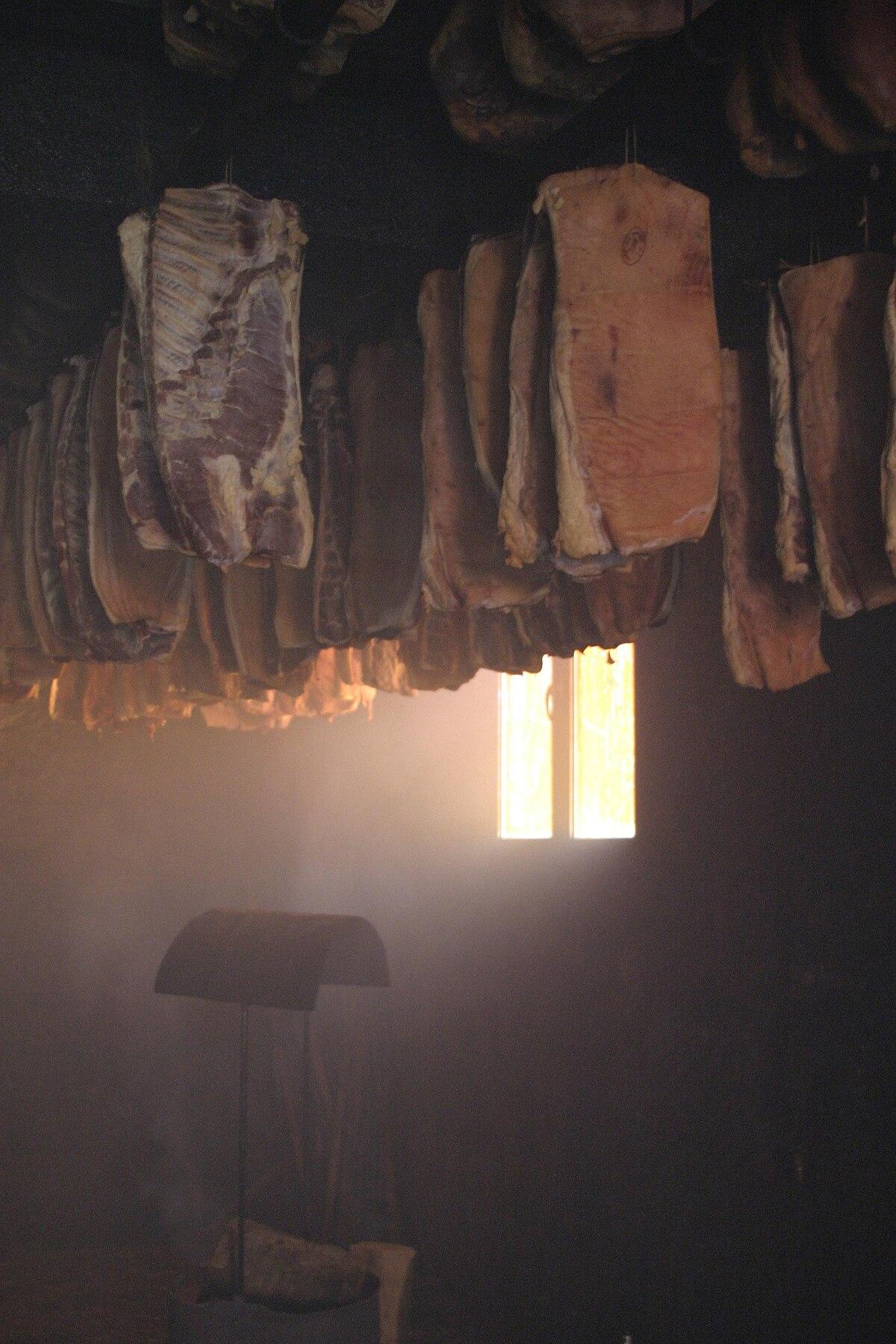 Chambre De Vieillissement Pour La Viande : Fumage — wikipédia