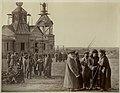 Сбор казаков на хуторе Гнутовом Есауловской станицы. 1875-1876.jpg