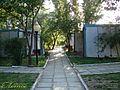 """Трех- и четырехместные летние домики с кондиционерами на базе отдыха """"Лотос"""" www.azov-lotos.ru - panoramio.jpg"""