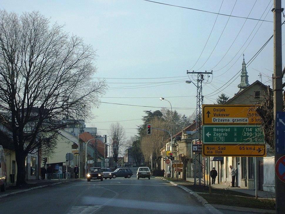 Шид (главна улица) - Šid (main street)