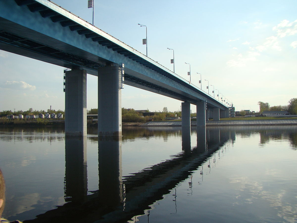 Висячий мост в ярославле фото 703-151
