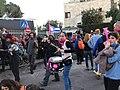 הפגנת מחאה מול הווילון השחור בבכניסה לבית ראש הממשלה בבלפור שבת אחר הצהריים 26 בדצמבר 2020 (6).jpg