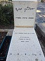 קבר הסופר אהרון מגד בבית הקברות כנרת. צילום אלי אלון.jpg
