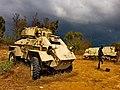 רכב משורין מצרי שהשתתף בלחימה בקיבוץ יד מרדכי.jpg