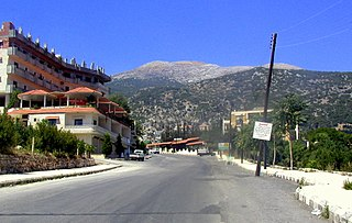 Jebel Aqra mountain on the Syria–Turkey border