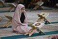 عکس های مراسم ترتیل خوانی یا جزء خوانی یا قرائت قرآن در ایام ماه رمضان در حرم فاطمه معصومه در شهر قم 04.jpg